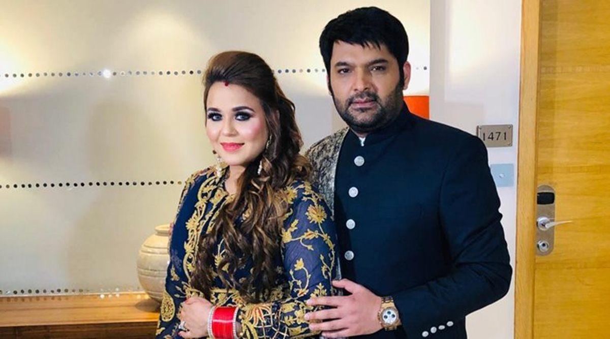Kapil Sharma and Wife